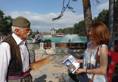 """Узвратна посета и промоција Туристичке организације  """"Опленац"""" Топола на Златибору"""